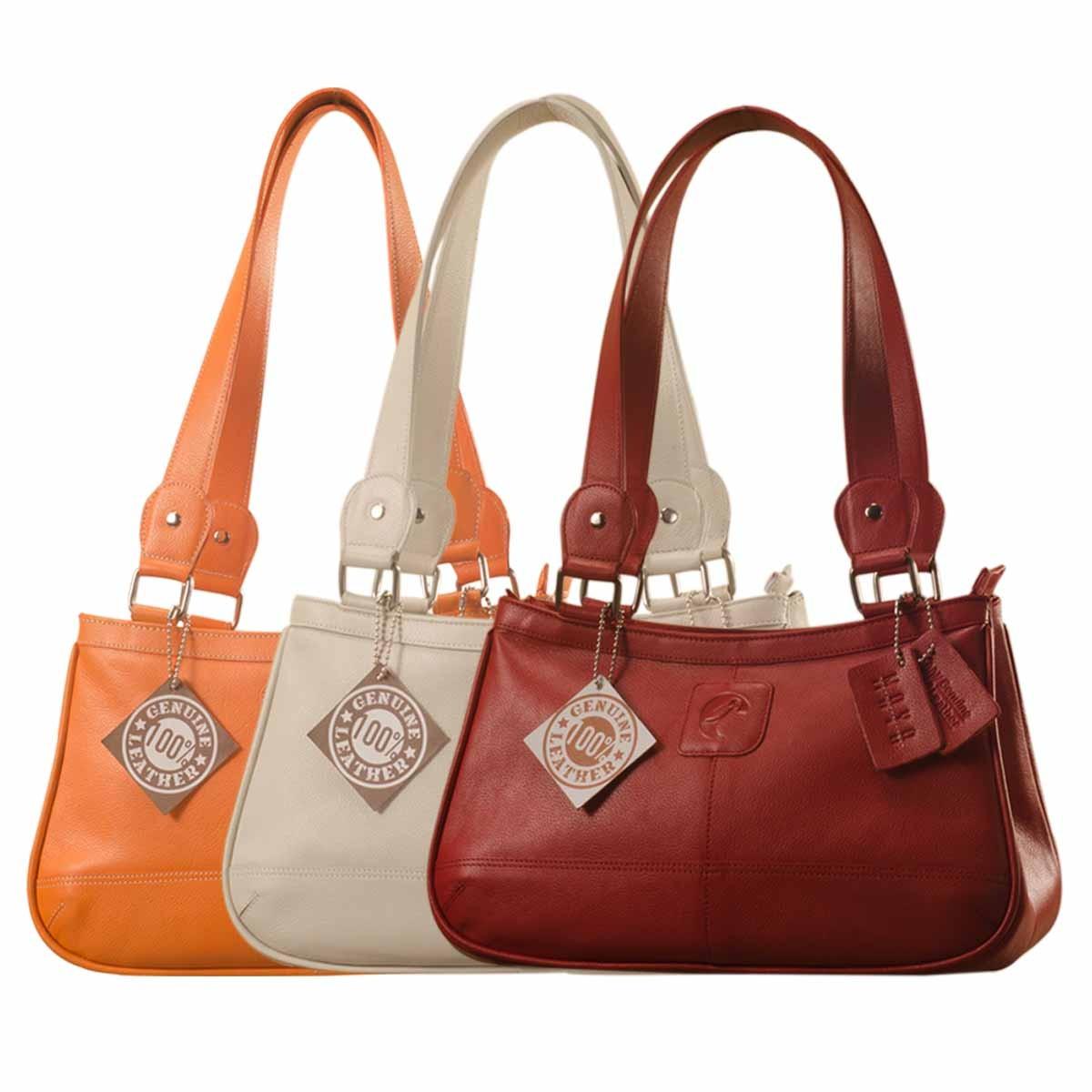 Genuine Leather Fashion Handbag eZeeBags YA818v1 - from the Maya Collection.  Zoom a85fee6f30