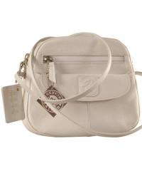 Nothing like a Maya Teen genuine leather sling bag - to enhance your style & confidence. eZeeBags YT842v1 - White.