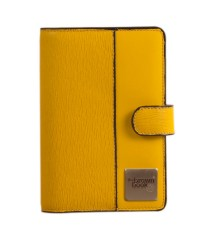 "100% Genuine Leather Organizer / Planners / Diary ,,the brown book"" MI Series – Rare Yellow Color"