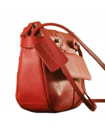 eZeeBags MayaTeens YT844v1 - Style, function & elegance rolled into this beautiful form factor. 100% genuine leather in 12 beautiful colors - Red.