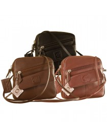 Sling it with style. Maya Teens YT840v1 genuine leather sling bags in 12 pleasant colors by eZeeBags.