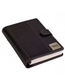 ",,the brown book ""- MD Series Executive size planner diary  in pure leather - 9 x 6.5 inch. Black."